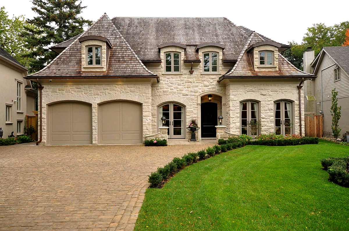 French chateau home plans affordable rock and stone okc for Chateau house plans