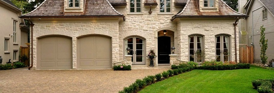 French style custom homes